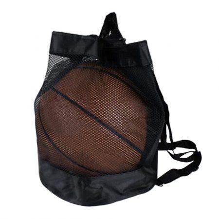 Labdatartó zsák, hálós, futball, kosár és röplabdához