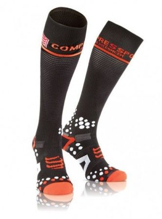 Compressport Full Socks V2.1 térdzokni fekete