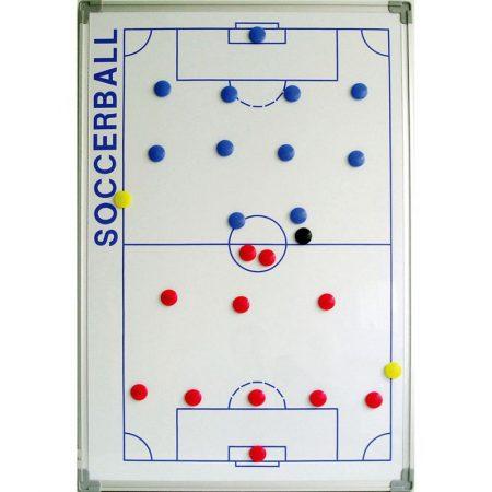 Taktikai mágnestábla 60 x 90 cm futball