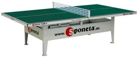 Sponeta S6-66e kültéri ping-pong asztal zöld