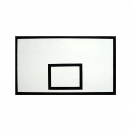 Kosárpalánk, 180x105 cm fabetétes ST üvegszálas, kültérre, szögletes