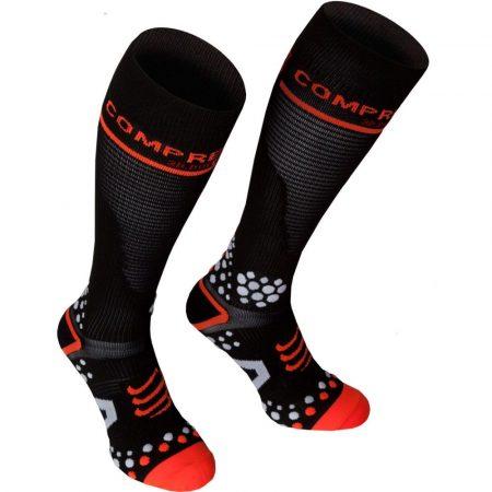 Compressport Full Socks térdzokni fekete