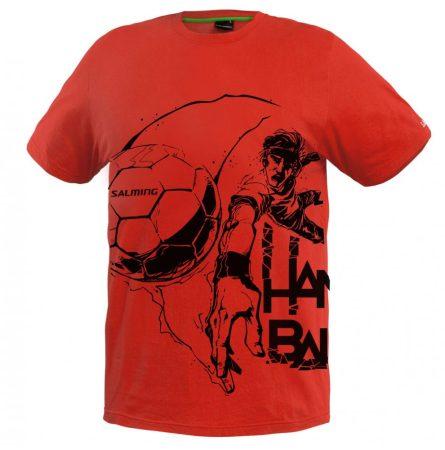 Salming kézilabdás póló piros