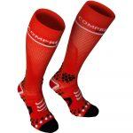 Compressport Full Socks térdzokni piros