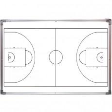 Taktikai mágnestábla 60x90 kosárlabda