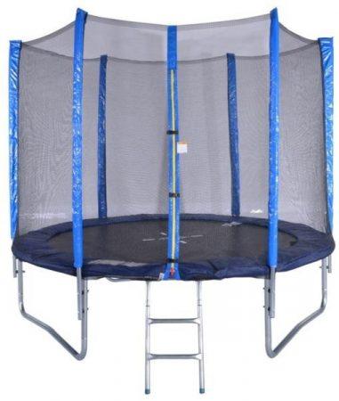 Fun 244 cm trambulin védőhálóval