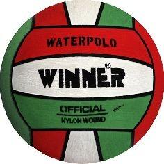 Vízilabda Winner WP piros-fehér-zöld