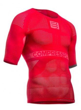 Compressport ON/OFF rövidujjú felső piros